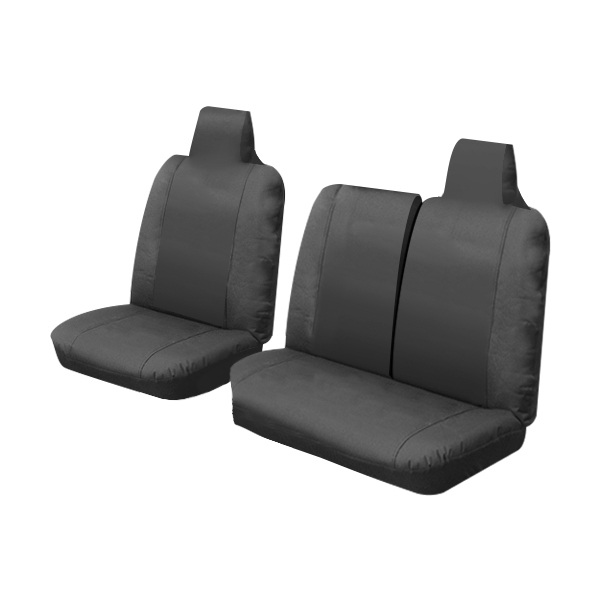 Canvas Car Seat Covers Toyota Hiace LWB/SWB Van 3/2005-1/2014