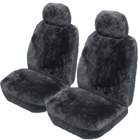Drover 16mm Sheepskin Seat Covers 3 Year Warranty Deploy Safe Pair