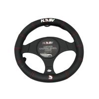 Genuine Holden HSV Black Leather Steering Wheel Cover Black HRT Commodore