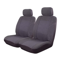 Esteem Velour Front Seat Covers Pair Airbag Deploy Safe