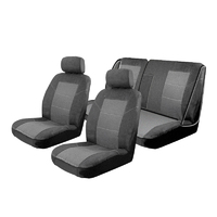 Esteem Velour Seat Covers Set Suits Nissan Tiida Hatch 9/2007-On 2 Rows