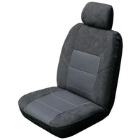 Esteem Velour Seat Covers Set Suits Ssangyong Stavic SV 270 Wagon 2006-On 3 Rows