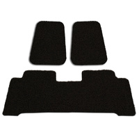 Custom Floor Mats Nissan Navara Dual Cab NP300 2015-On Front & Rear Rubber Composite PVC Coil