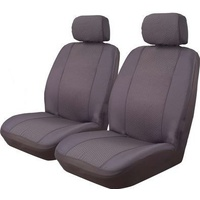 Venice Jacquard Front Seat Covers Pair Airbag Deploy Safe
