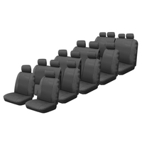 Canvas Custom Made Seat Covers Toyota Hi-Ace Commuter Bus 1984-On 5 Rows