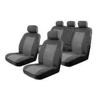 Esteem Velour Seat Covers Set Suits Hyundai i40 VF Active/Elite/Premium 4 Door Sedan 6/2012-On 2 Rows