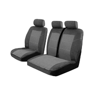 Custom Made Esteem Velour Seat Covers Renault Trafic L2H1 MY11 Van 3/2011-On 1 Row