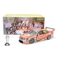 1:18 2008 Bathurst Winner Lowndes Whincup 18373 (Signed Certificate)