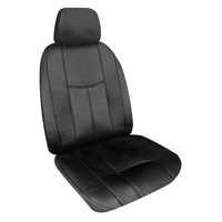 Empire Leather Look Seat Covers Airbag Safe - Black Size 30 One Pair