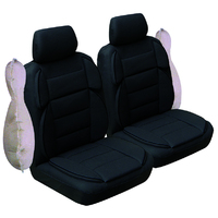 Sports Rider All Over Tweed Front Seat Covers Pair Airbag Deploy Safe Size 30