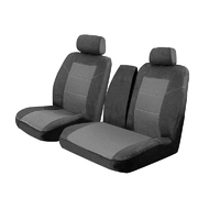 Tailor Made Velour Seat Covers Hyundai iLoad 2/2008-On Front Row