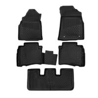 3D Rubber Floor Mats Toyota Fortuner Manual 2016-On 5 Piece EXP.ELEMENT3D48159210k