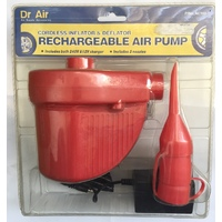 Dr Air Cordless Inflator Deflator Rechargeable Air Pump AC102