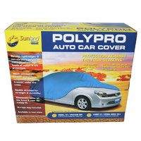 Polypro Car Cover Large / Extra Large Weatherproof Dust Cover L / XL CC13