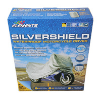 Silvershield Motorcycle Bike Cover 100% Waterproof X-Large Over 1000CC MCW1500