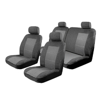 Seat Covers Set Suits Suzuki Celerio LF Hatch 2/2015-On 2 Rows
