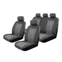 Esteem Velour Seat Covers Set Suits Ford Focus Trend/ST-Line/Active 4 Door Hatch 11/2018-On 2 Rows