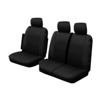 Custom Made Outback Canvas Seat Covers Volkswagen Crafter Runner MWB/LWB Van 8/2017-On 1 Row Black