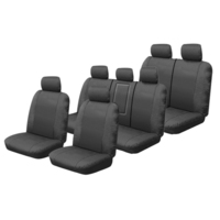 Canvas Seat Covers Isuzu MU-X UC LS-T/LS-U/LS-M 11/2013-On 3 Rows Custom Made