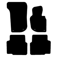 Tailor Made Floor Mats SAAB 9-3 Convertible 2002-2012 Custom Front & Rear SA012-4