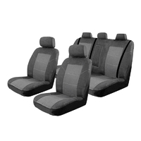 Esteem Velour Seat Covers Set Suits Honda Legend Sedan 2009-On 2 Rows