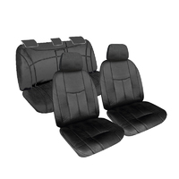 Empire Leather Look Seat Covers Hyundai Tucson (TLE) Go/Highlander 2018-On
