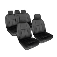 Empire Leather Look Seat Covers Jeep Grand Cherokee (WK) Laredo/Limited/Overland 2011-On