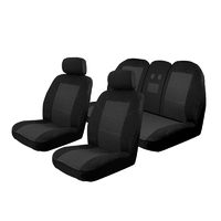 Custom Velour Seat Covers Holden Commodore VF Sedan Evoke 6/2013-On Deploy Safe