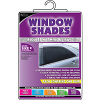 Side Window Sun Shade Sox For X Large Curved Windows One Pair Size E