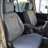 Tuffseat Canvas Seat Covers Renault Trafic 1/2015-On X82 Not for Crewcab Van